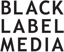 Black Label Media logo