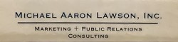 Michael Aaron Lawson, Inc.